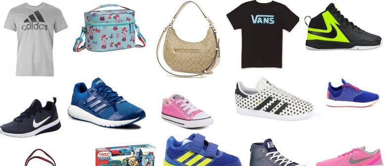 4 Day Mega Sale - Adidas, Converse, Vans, Nike & More