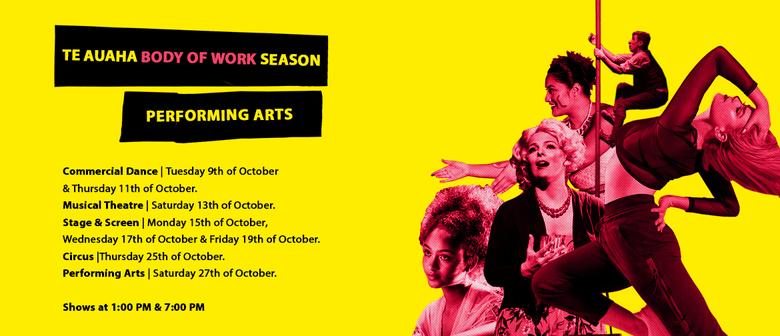 Body of Work Season 2018 - Performing Arts