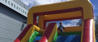 Block Party: Giant Inflatables Bouncy Castle and Slide