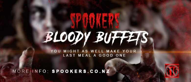 Spookers Bloody Buffet & R16 Attraction Packages