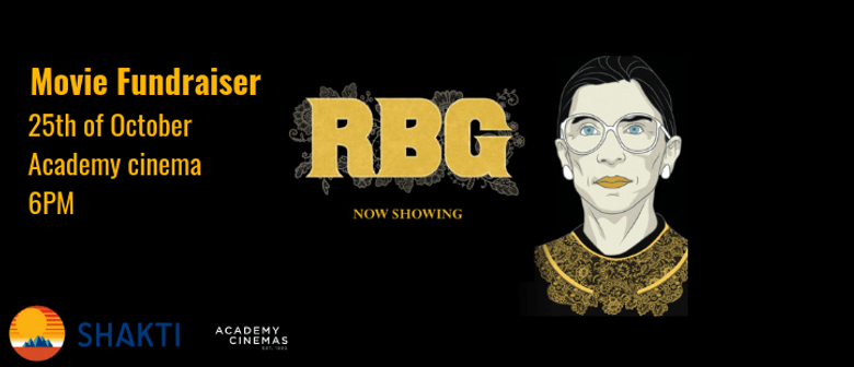 Shakti Movie Fundraiser - RBG