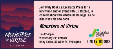 Lunchtime Author Event - Monsters of Virtue