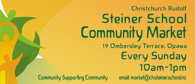 Rudolf Steiner School Community Market