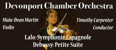 Devonport Chamber Orchestra - Lalo and Debussy