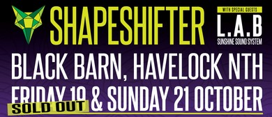 Shapeshifter with L.A.B & Sunshine Sound System