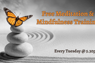 Image for event: Meditation & Mindfulness Training