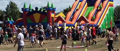 Mega Bouncy Fun Day at Ferrymead Heritage Park