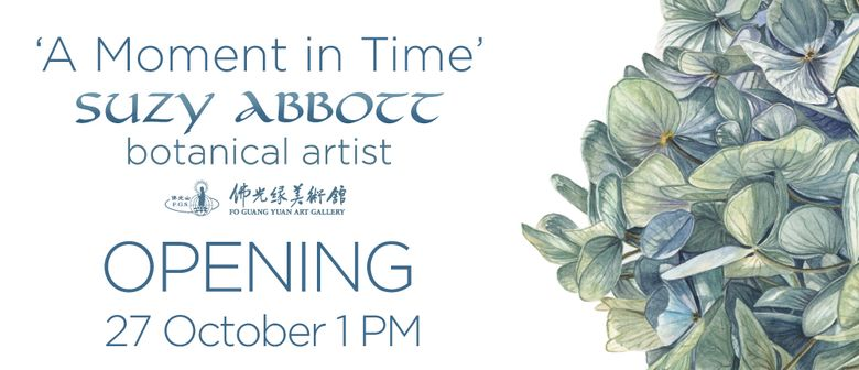 Suzy Abbott - A Moment In Time Exhibtion Official Opening