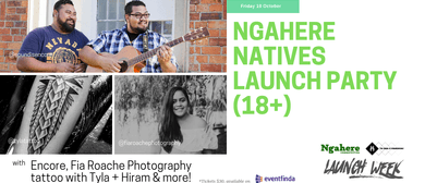 Ngahere NATIVES Launch Party (18+): CANCELLED