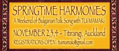 Springtime Harmonies: Singing Workshop With Tui Mamaki