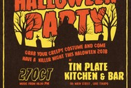 Tin Plate Halloween Party