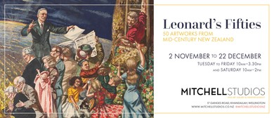 Leonard's Fifties: 50 Artworks from Mid-Century New Zealand