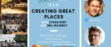 Public Talk: Creating Great Places
