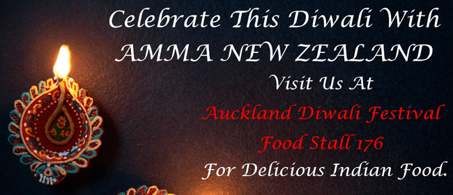 Amma New Zealand Food Stall at Auckland Diwali Festival