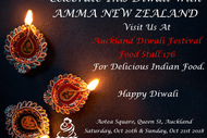 Image for event: Amma New Zealand Food Stall at Auckland Diwali Festival