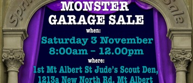 Mt Albert Scouts - Monster Garage Sale