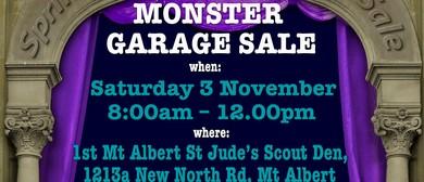 Mt Albert Scouts - Monster Garage Sale