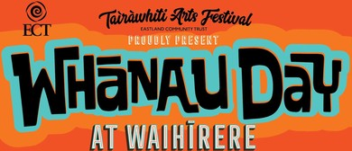 Whānau Day at Waihīrere Domain