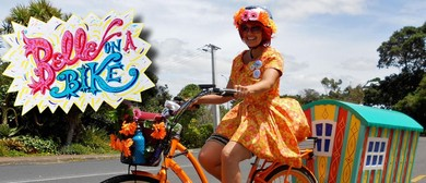 Belle On a Bike Roaming Pop-Up Storytelling Show