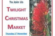 Twilight Christmas Market