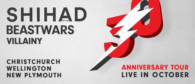 Shihad 30th Anniversary Tour