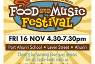 Image for event: The Port Ahuriri School Food and Music Festival