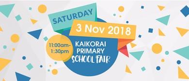Kaikorai Primary School Fair