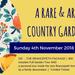 A Rare and Artisan Country Garden Tour 2018