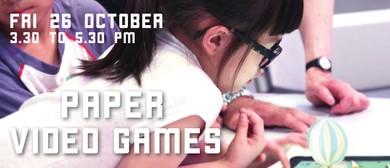 Paper Video Games - Children Workshop