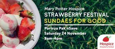 Mary Potter Hospice Porirua Strawberry Festival 2018