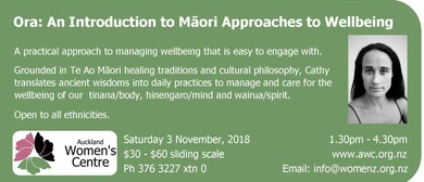 Ora: Introduction to Māori Approaches to Wellbeing