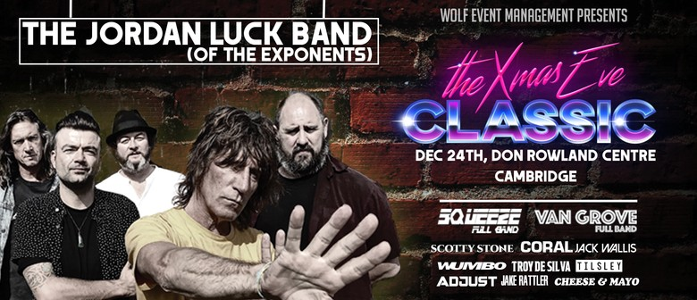 The Xmas Eve Classic feat. The Jordan Luck Band (Exponents)