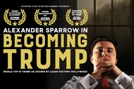 Image for event: One Night Only: Alexander Sparrow in Becoming Trump