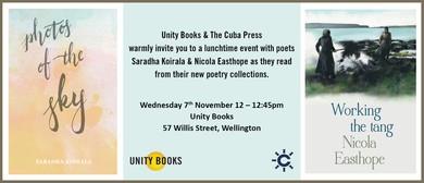 Lunchtime Event - Saradha Koirala & Nicola Easthope