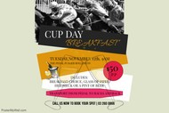 Image for event: Cup Day Champagne Breakfast