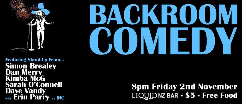 Backroom Comedy