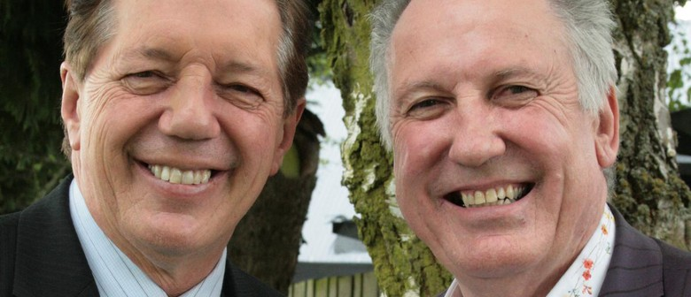 Gary McCormick and Tim Shadbolt