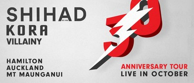 Shihad 30th Anniversary Tour