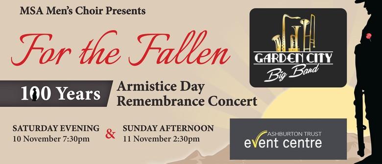 For the Fallen Armistice Celebration