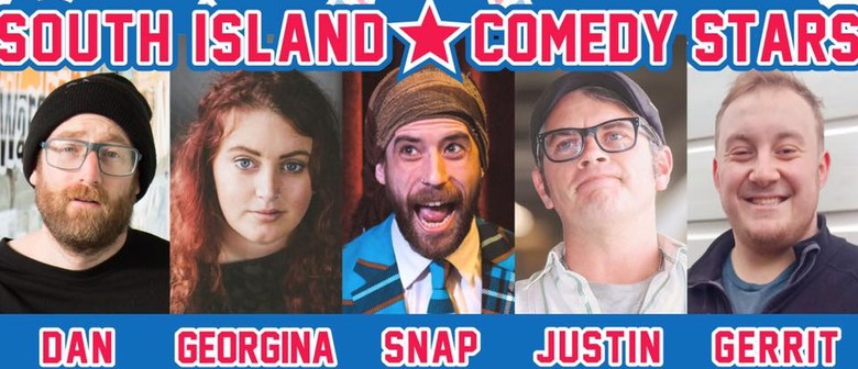 South Island Comedy Stars In Invercargill!