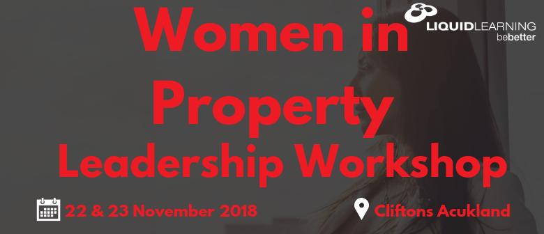 Women In Property Leadership Workshop
