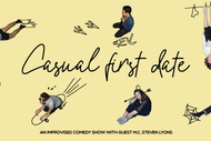 Image for event: Casual First Date - An Improvised Comedy Show