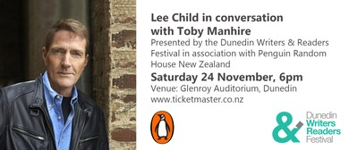 Lee Child In Conversation With Toby Manhire