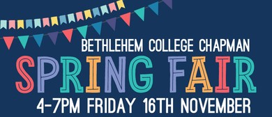 Spring Fair - Bethlehem College Chapman