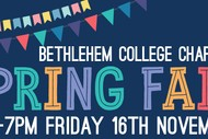 Image for event: Spring Fair - Bethlehem College Chapman