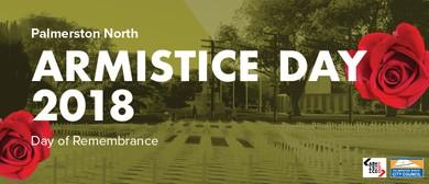 Palmerston North Armistice Day Service 2018