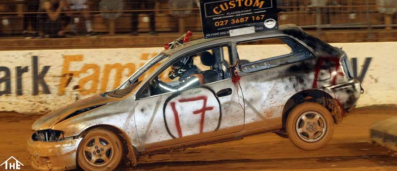 Demo Derby & Stock Car Teams Race