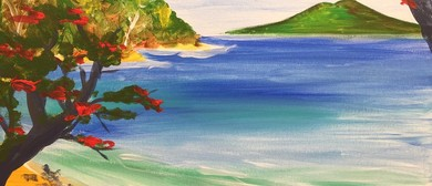 Paint and Wine Night - Summer in Shakepeare - Paintvine