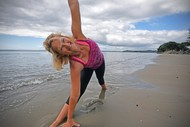 Image for event: Yoga On the Beach