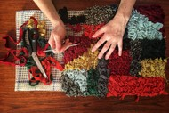 Image for event: Necessary Traditions: Hooked Rag Rug Workshops